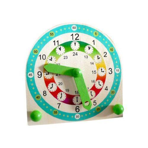 zegar do nauki odczytywania godzin marki Hess