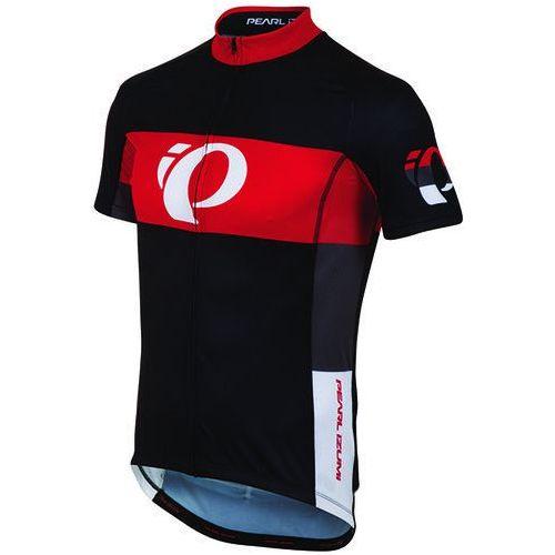 Pearl izumi elite ltd - męska koszulka rowerowa (czarny-czerwony)