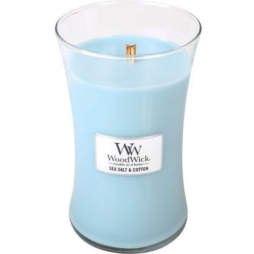 Świeca Core WoodWick Sea Salt & Cotton duża