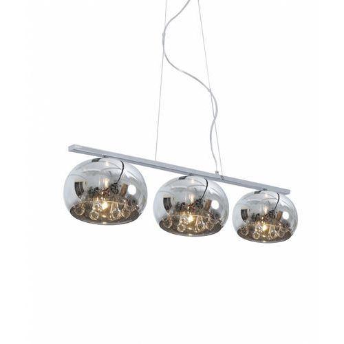 Zuma line Lampa wisząca crystal 3 klosze w linii, p0076-03s-f4fz