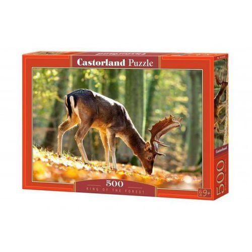 Castor 500 elementów król lasu