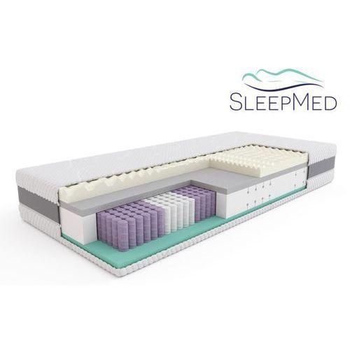Materace sleepmed Sleepmed supreme - materac termoelastyczny, piankowy, rozmiar - 120x200 wyprzedaż, wysyłka gratis (5901595011608)
