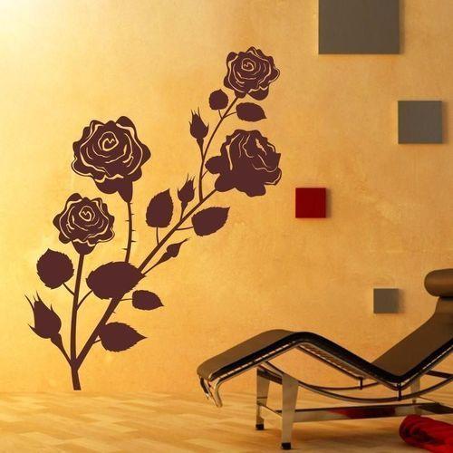 szablon malarski kwiaty róża 1100