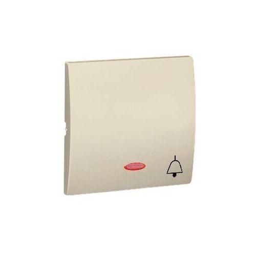 Kontakt Simon CLASSIC Klawisz do przycisku dzwonek (z podświetleniem) beż - MKD1L/12 z kategorii pozostała elektryka