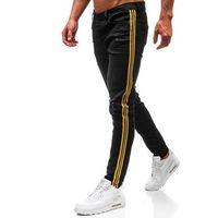 Spodnie jeansowe męskie czarne denley 1011 marki Otantik