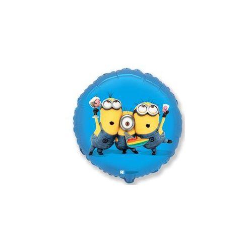 Balon foliowy minionki party - 45 cm - 1 szt. marki Flx