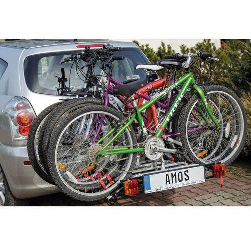 Tytan 4 - Amos - Bis platforma Bagażnik rowerowy na hak + DOSTAWA GRATIS | SKLEPY WARSZAWA ul. Grochowska 172, ul. Modlińska 237 (5902768727548)