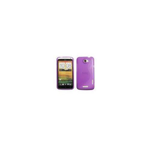 ADVANCED ACCESSORIES Etui S-Line GEL dedykowane do HTC One X - fioletowe Odbiór osobisty w ponad 40 miastach lub kurier 24h - produkt z kategorii- Futerały i pokrowce do telefonów