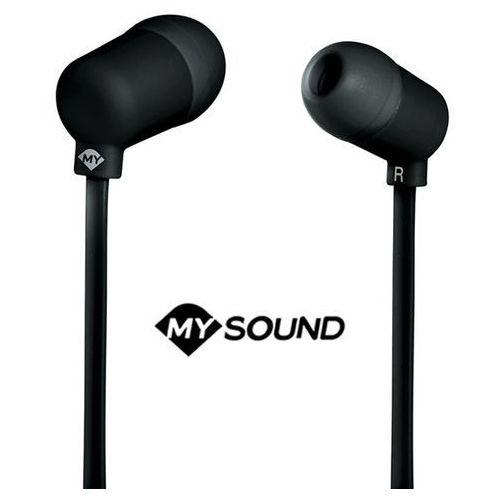 Słuchawki dokanałowe MELICONI Auricolare Speak Fluo Czarny + Zamów z DOSTAWĄ JUTRO!