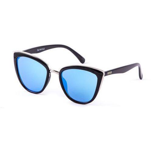 Ocean sunglasses Okulary przeciwsłoneczne damskie 18113-2_cateye niebieskie