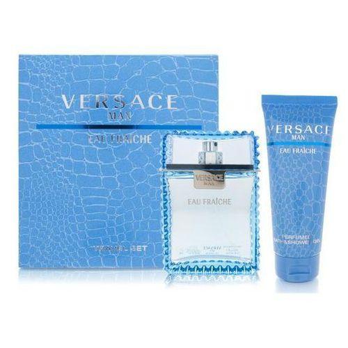 zestaw man eau fraiche edt 100 ml + żel pod prysznic 100 ml marki Versace