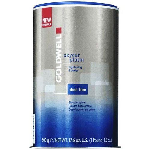 Goldwell oxycur platin, rozjaśniacz w proszku, dust-free, 500g (4021609013082)