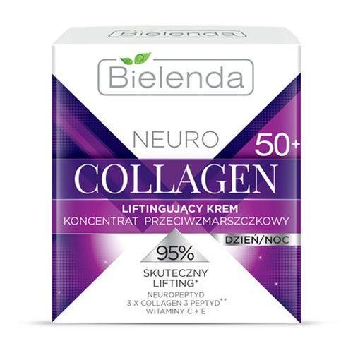 Liftingujący krem przeciwzmarszczkowy 50+ neuro collagen 50ml marki Bielenda