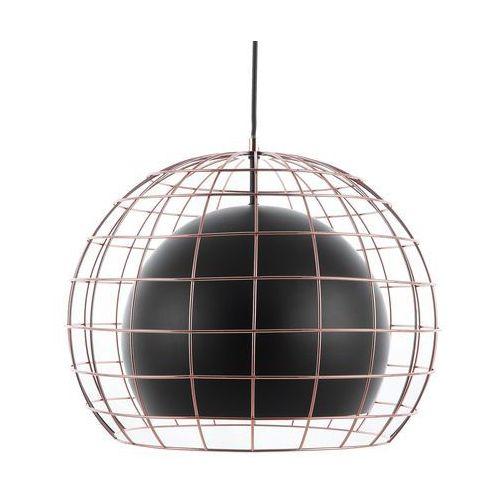 Beliani Lampa wisząca czarna liri (4260586352559)