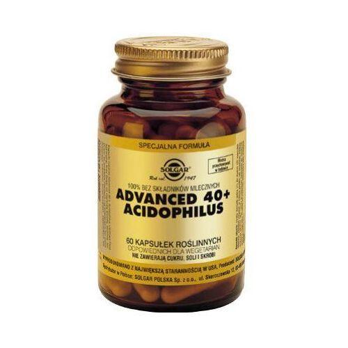 Jelitowa flora bakteryjna Advanced 40+ Acidophilus 60 kaps.