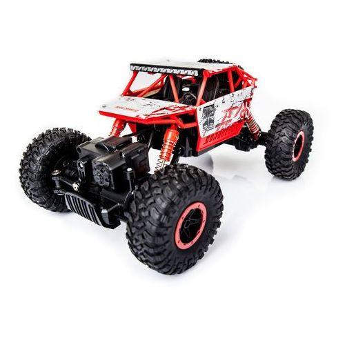 Zdalnie sterowany Samochód RC Rock Crawler 1:18 4WD 2,4GHz czerwony
