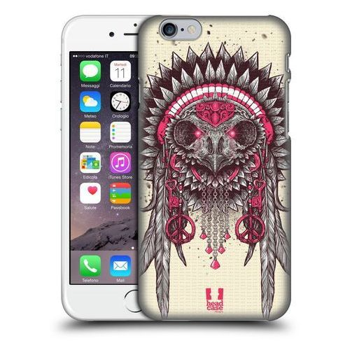 Etui plastikowe na telefon - Ethnic Owls PINK AND GREY, kolor szary