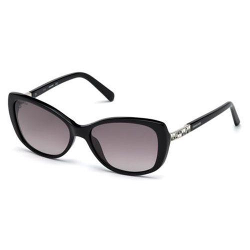 Okulary Słoneczne Swarovski SK 0124 01B