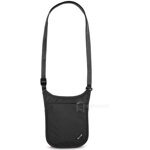 Pacsafe Coversafe V75 saszetka podróżna na szyję / etui podróżne - Black