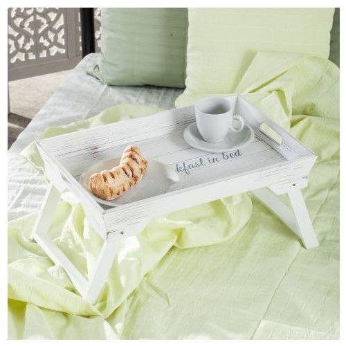 taca do łóżka breakfast 48,5x32x24cm, 48,5 × 32 × 24 cm marki Dekoria