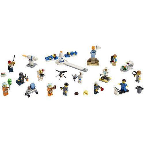 Lego CITY Badania kosmiczne - zestaw minifigurek people pack - space research and development 60230