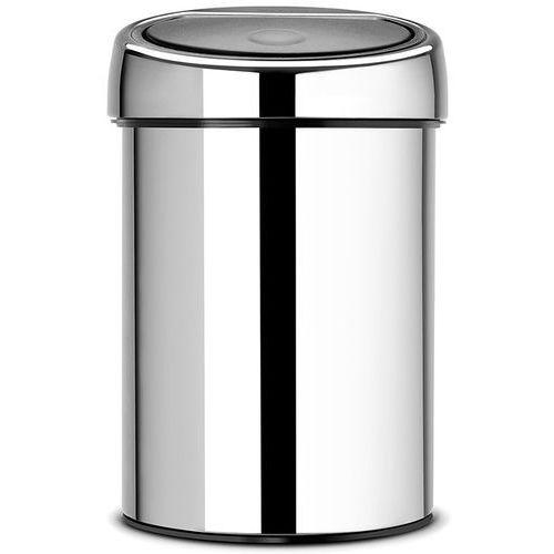 Brabantia Kosz na śmieci touch bin 3l stal błyszcząca (8710755363962)