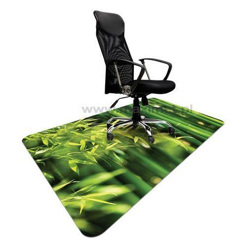 Podkładka ochronna ze wzorem BAMBUS 007 - pod krzesło - 120x180cm - grubość. 1,3mm