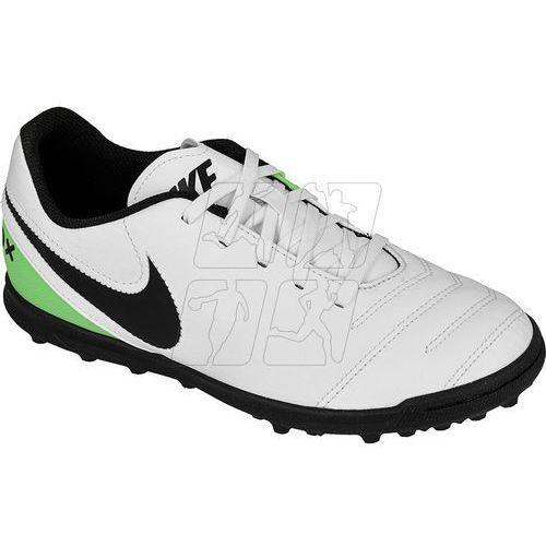 Buty piłkarskie  tiempox rio iii tf jr 819197-103 marki Nike