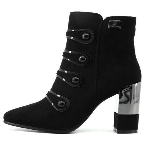 buty za kostkę damskie 36 czarny, Laura biagiotti