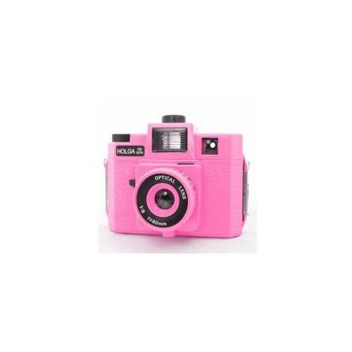 aparat 120 gcfn pink ( szklany obiektyw ) marki Holga