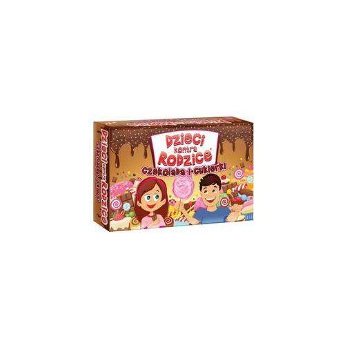 Dzieci kontra rodzice. czekolada i cukierki marki Kangur