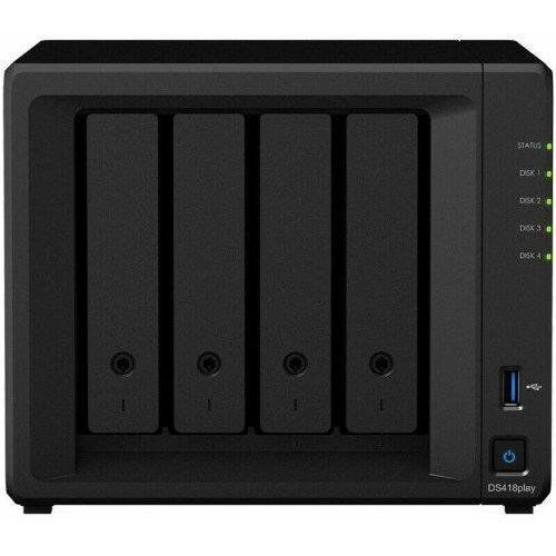 Serwer nas ds418play tower sdd | hdd 2.5'' | 3.5'' sata marki Synology
