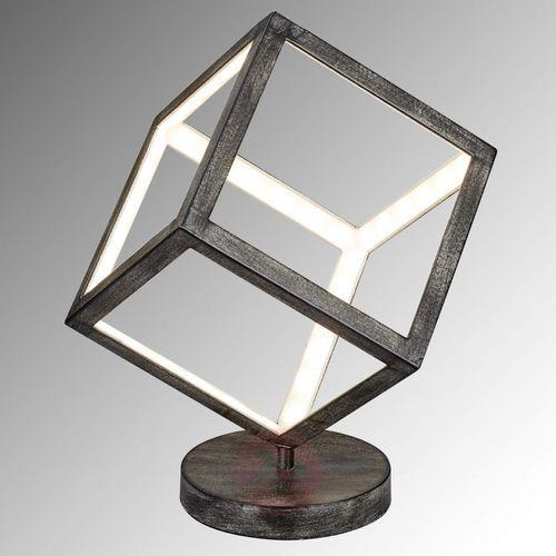Trio dice lampa stołowa led siwy, 1-punktowy - design - obszar wewnętrzny - dice - czas dostawy: od 4-8 dni roboczych