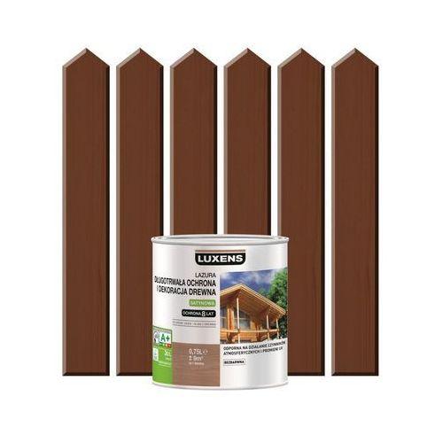 Luxens Lazura do drewna długotrwała ochrona i dekoracja drewna 0,75 lpalisander (3276006109840)