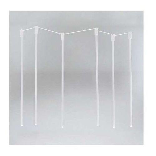 Lampa sufitowa alha n 9005/g9/bi/kolor natynkowa oprawa downlight sople tuby marki Shilo