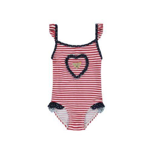 Steiff Girls Strój kąpielowy Paki tango red (4056178405730)