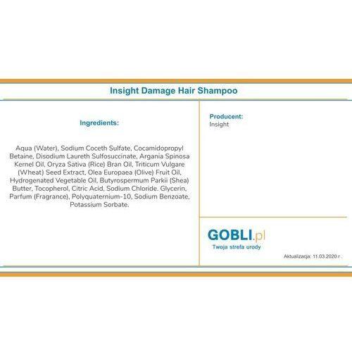 InSight Damaged Hair, szampon odbudowujący, 400ml, 15879