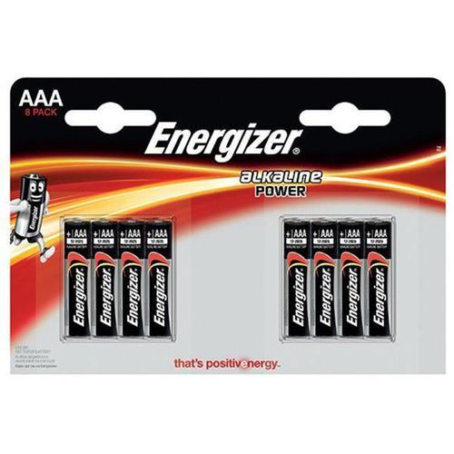 Bateria alkaline power, aaa, lr03, 1,5v, 8szt. marki Energizer