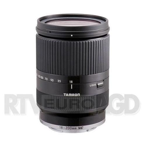 Tamron AF 18-200 mm f/3,5-6,3 Di III VC (czarny) Canon EOS-M (4960371005805)
