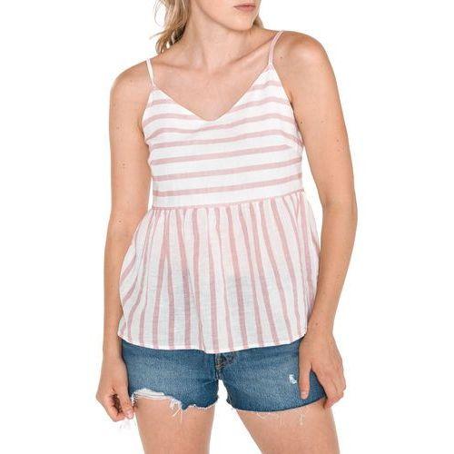 Vero Moda Sunny Top Różowy Biały XS