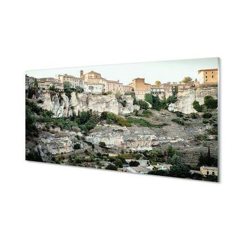 Obrazy akrylowe hiszpania góry drzewa miasto marki Tulup.pl