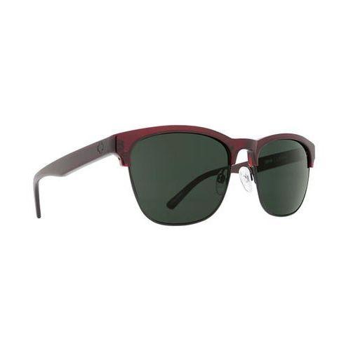 Okulary słoneczne loma loma translucent garnet/matte black - happy gray green marki Spy