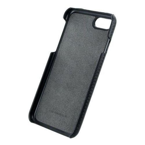 Ferrari  hardcase rc - etui skórzane iphone 7 (czarny)