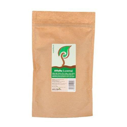 Alfalfa (lucerna) proszek 200g marki Aura glob. Najniższe ceny, najlepsze promocje w sklepach, opinie.