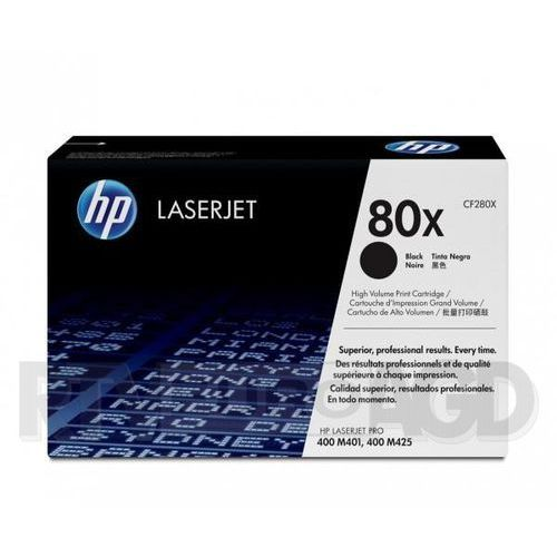 HP Inc. Toner 80X Black 6.8k CF280X, CF280X