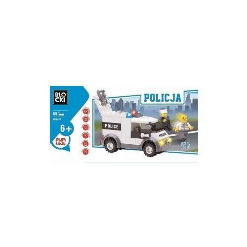 OKAZJA - Icom Klocki blocki policja furgonetka 85 elementów