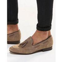 H by hudson pierre tassel loafers - grey