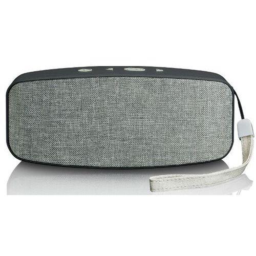 Głośnik mobilny bt-130 szary marki Lenco