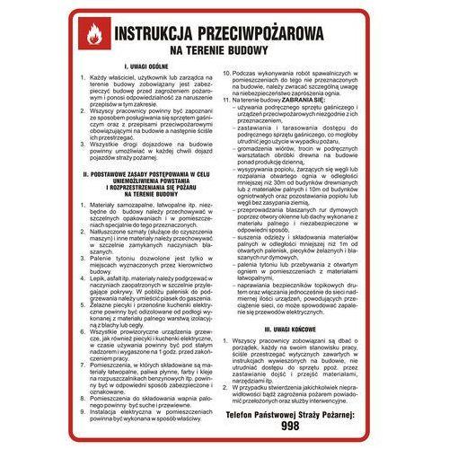 Top design Instrukcja przeciwpożarowa na terenie budowy