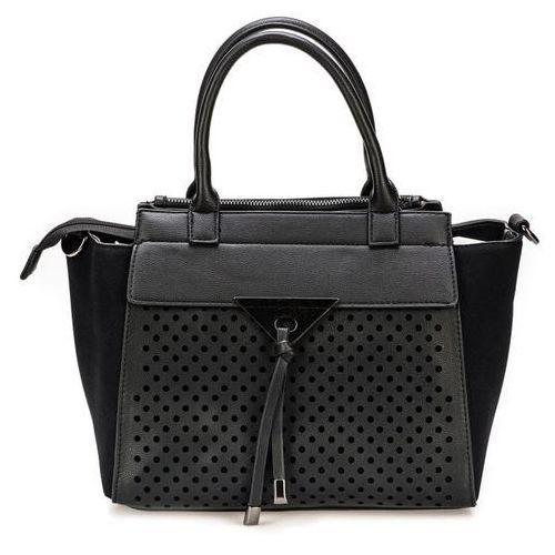 Bessie London torebka damska czarny, kolor czarny